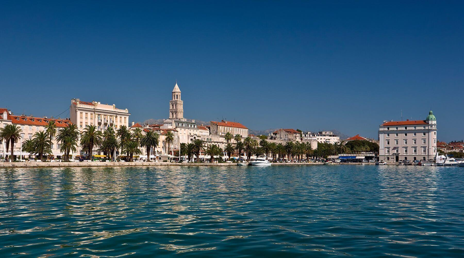 Popular destinations in Croatia