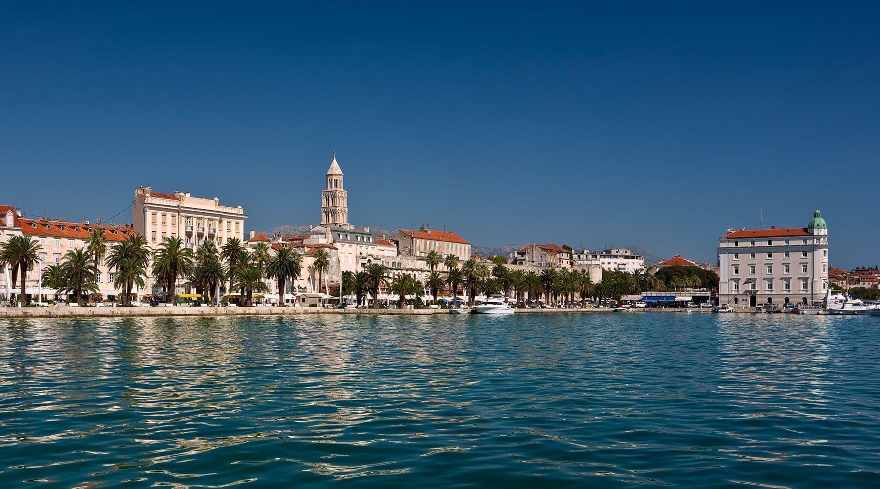 Popular destinations in Croatia